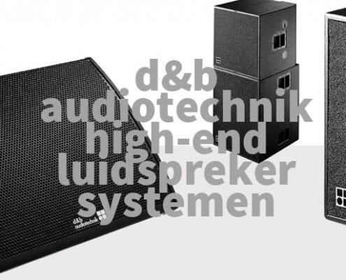 d&b-audiotechnik-luidsprekersystemen